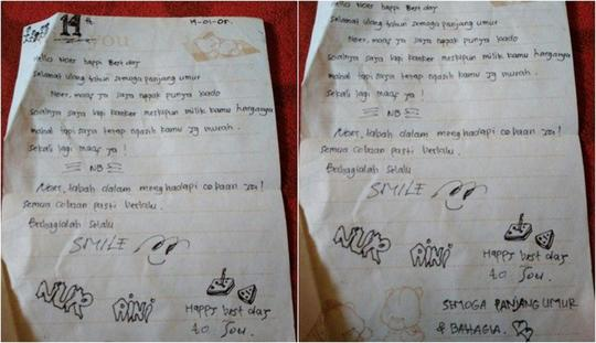 28+ Contoh surat cinta jadul terbaru terbaru