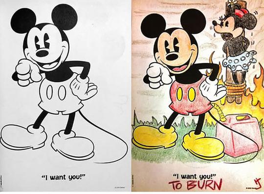 Begini Jadinya Kalau Orang Dewasa Yang Mewarnai Buku Gambar Anak-Anak Part 2