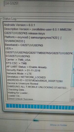 Jasa repair Samsung S6 S6 EDGE T-MOBILE unlock, imei hilang,baseband unknown