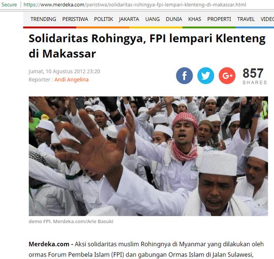 Brigade Manguni Berlindung Di Polrestabes Saat Markasnya Diserbu FPI Makassar