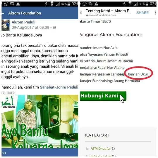 Viral di Facebook, Istri Almarhum Zoya Tepis Isu Miring Soal Penyelewengan Sumbangan