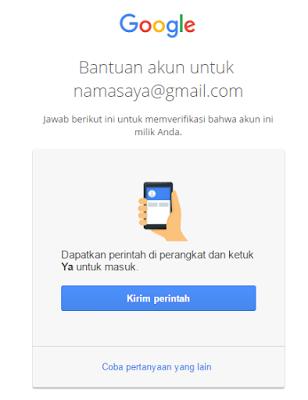 Pemulihan Akun Google Gmail Kena Hacked Kaskus