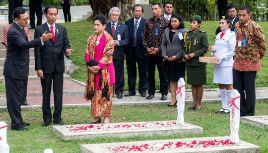 Ribuan Makam Pahlawan Indonesia di Timor Leste Telantar