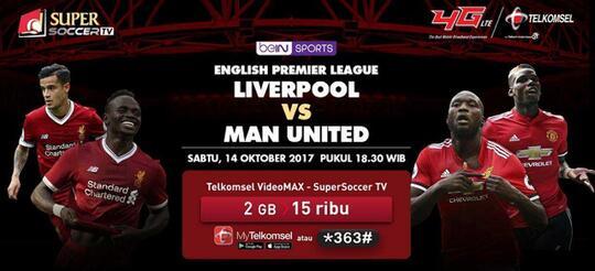Big Match Liverpool vs Manchester United Yang Bawa Berkah Buat Kaskuser