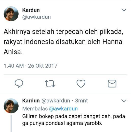 Hana Anisa Apakah Korban Kejamnya Dunia Sosial Media ?