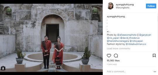 Mengenal Warungboto, Tempatnya Putri Presiden Jokowi Melakukan Prewedding