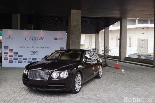 Mobil Bentley Tak Ada yang Dijadikan Taksi Online