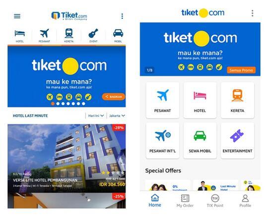 Ada yang Baru Dari Tiket.com, Udah Tau Belum Gan?
