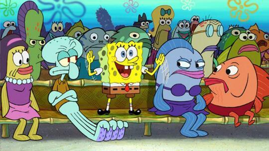 Ini Dia 10 Karakter Figuran SpongeBob SquarePants yang Kamu Belum Tau Namanya!