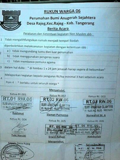Surat Edaran Kontroversial Di Tangerang Yang Viral Akhirnya