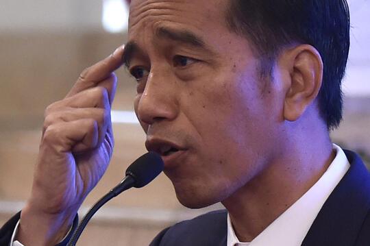 Jokowi Sebut Indonesia Paling Aktif Korupsi