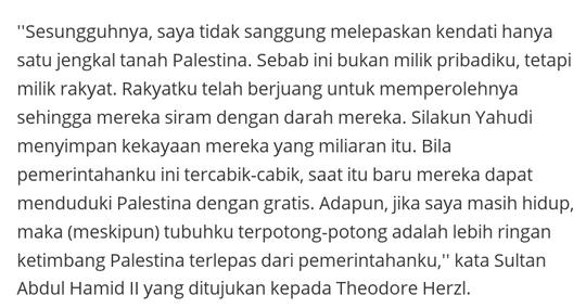 Yerusalem adalah simbol toleransi beragama,bukan sebaliknya!!!