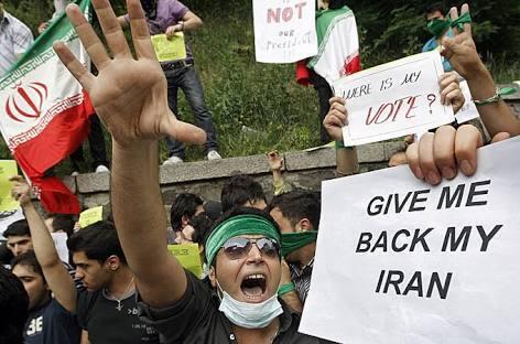 Harga pangan melambung,Iran mulai bergejolak hadapi demonstran di tiap kota