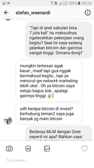 Jangan sampai terjebak dengan Project Entrepreneur dari QNET (QuestNet)