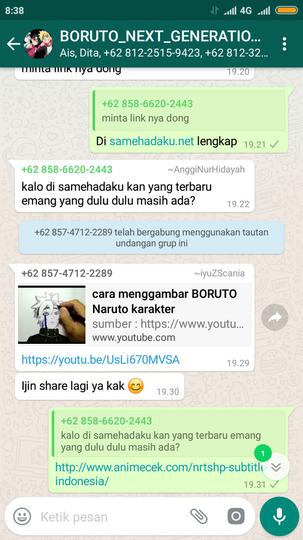 as ) link kumpulan grup whatsapp - Page5 | KASKUS