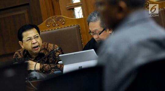 KPK: Usai Kecelakaan, Setya Novanto Tidak Dibawa ke IGD