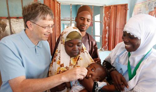 Lunasi utang negara Nigeria, Bill Gates memang seorang Philantropis sejati