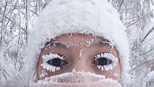 Di Rusia, Ada 2 Desa Dengan Suhu Dingin yang Sangat Ekstrem