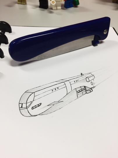 Agan Ini Ubah Barang Sehari-hari Jadi Model Pesawat Luar Angkasa