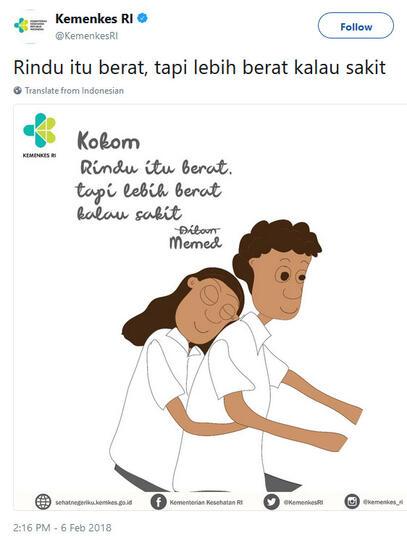 demam dilan ini cuitan kocak netizen soal rindu itu berat