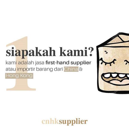Cara jadi SUPPLIER FIRST HAND
