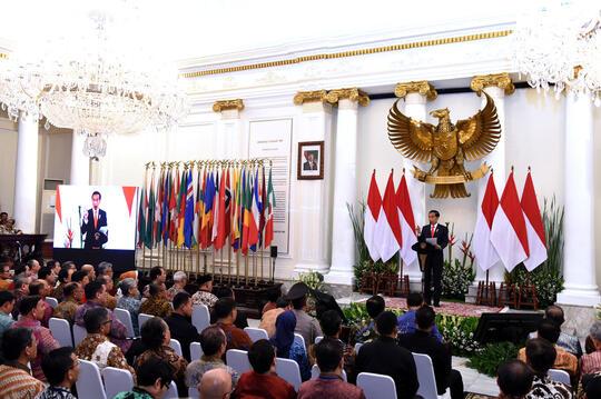 Indonesia Sudah Masuk G-20, Presiden: Jangan Lagi Cari-Cari Bantuan