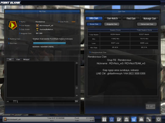 Terjual Akun Point Blank Pb Garena Hero Bintang 5 Data Lengkap No Hp Polos Kill 2 7jt Kaskus