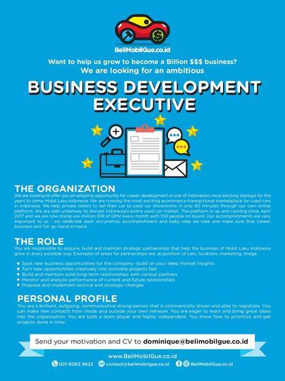 Senior Business Development Executive Kaskus