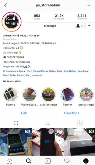 Penipuan Online Di Instagram Kaskus