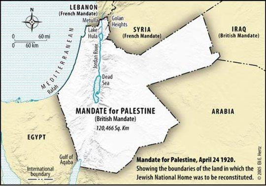 kronologi dan peristiwa kunci konflik israel-arab