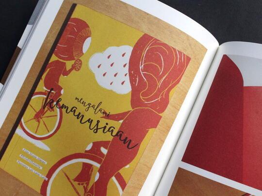 Aku dan Koleksiku | Buku Desain Grafis berbasis Eksperimental dan Kontemporer