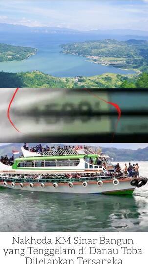 Misteri Kedalaman Danau Toba Akhirnya Terkuak.sekitar 1600 ...