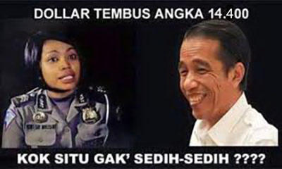 Dolar Nyaris 15 Ribu, HIPMI Tunggu Aksi Jokowi