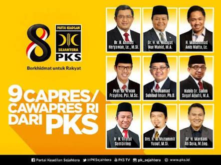 PKS Ancam Pecah Kongsi dengan Gerindra jika Tak Dapat Posisi Cawapres