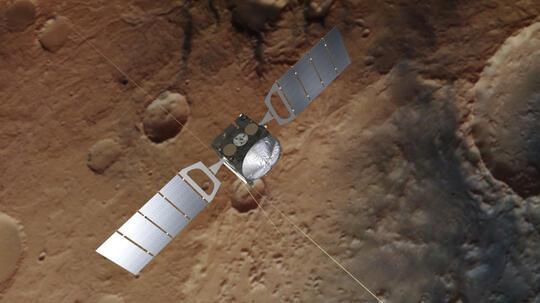 Mars Express ESA Berhasil Menemukan Air di Kutub Mars