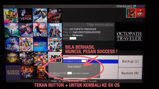 SHARING) Nintendo Switch - Panduan Instalasi CFW to play XCI & NSP