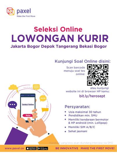 Lowongan Kerja Pt Paxel Indonesia Kaskus