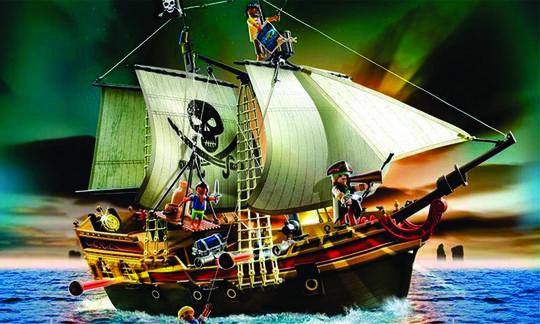 Gambar Kapal Bajak Laut Keren