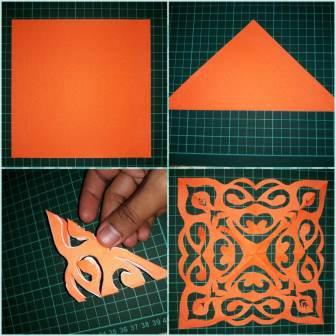 seputar kirigami,Tutorial dan kirigami ship (pop-up card unik nih gan)