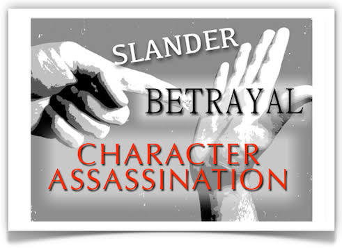 Stop character assassination!