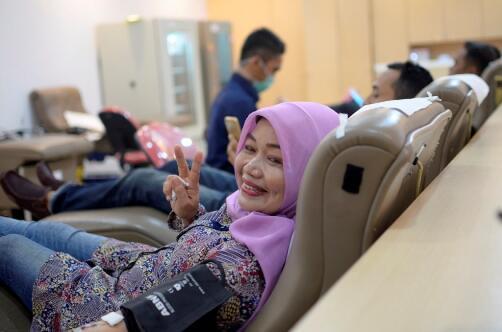 [FR] Donor Darah dalam Rangka Hari Pahlawan Nasional 2018