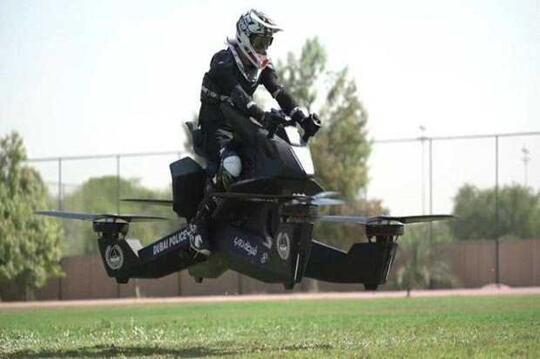 Sepeda Motor Terbang Akan Dipakai Oleh Polisi Dubai Di Tahun 2020