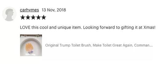 GOKIL! Orang Ini Jualan Sikat WC Donald Trump, Dan LAKU Gan!