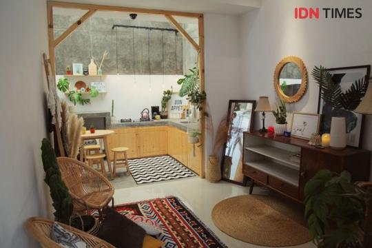 Dekorasi Rumah Tipe 36 Berkonsep Urban Jungle Buat Pasangan