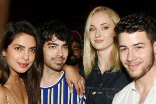 Jonas Brothers Tiba Di India 12 Foto Pesta Prewed Priyanka Nick Kaskus