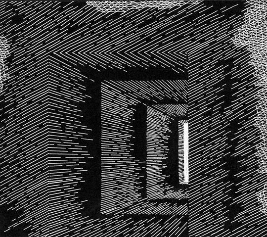 Gokil Gan, Seniman Ini Ciptakan Karya Seni Luar Biasa Hanya Dari Kombinasi Garis 2D