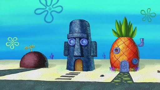 10 Tempat Di Bikini Bottom Yang Paling Terkenal Spongebob Sering Nongkrong Di Sini Kaskus