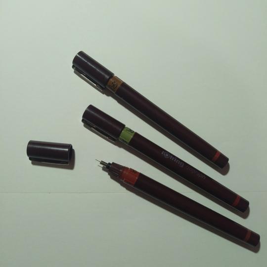 Beginilah cara membersihkan pulpen rapido rotring isograph