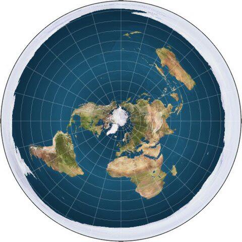 Apakah yang Terjadi jika Teori Konspirasi Flat Earth Disepakati?