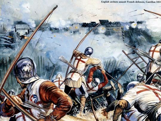 Battle of Castillon (Penutup Perang 100 Tahun)